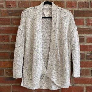 Loft Lounge Chunky Knit Open Front Cardigan